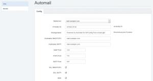 ISPConfig Automailer Setup
